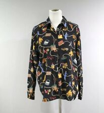 Vintage Corey B Silk Blouse Womens Size Medium M Nordstrom