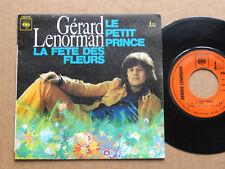 """DISQUE 45T GERARD LENORMAN   """" LE PETIT PRINCE """""""
