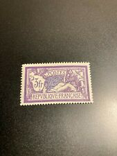 Timbre France, N°206, merson 3fr violet, Neuf, cote: 32€