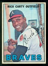 1967 TOPPS OPC O PEE CHEE BASEBALL #35 RICO CARTY EX-NM ATLANTA BRAVES CARD