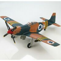 1:48 Scale Israel Air Force P51D Mustang Aircraft Assembled Diecast Metal Model