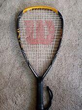 Wilson K Factor (K)arophite Black Racquetball Racquet 🎾 Rage. Almost flawless!