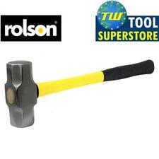 Rolson 3lb 1.4Kg Lump Hammer Sledge Hammer Mallet with Fibreglass Handle Grip