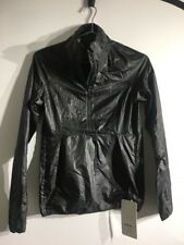 Lululemon Run With It Jacket NWT Sz 4 Black Color Reflective Water Resistant