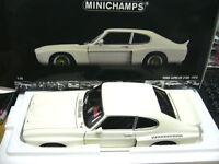 1:18 Minichamps Ford Capri RS 3100 (1974) Blanco lmtd. EDITION 1000 ST Mundial