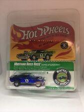 """Hot Wheels Rlc """"Spoilers"""" Mustang Boss Hoss"""
