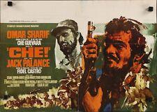 CHE! Belgian movie poster OMAR SHARIF CHE GUEVARA CASTRO CUBA 1969 RAY ELSEVIERS