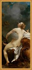 Jupiter And Io Antonio poiché Correggio Dio mitologia AMORE SEDUZIONE B a2 00631
