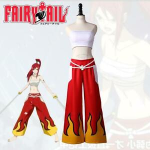 Anime Fairy Tail Cosplay Costume Erza Scarlet Cosplay Costume Brand Japanese SS
