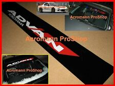 "53"" ADVAN Windshield Sunstrip Decal Sticker yokohama GTR WRX Impreza RSX FRS JDM"