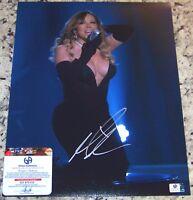 CLEARANCE SALE! Mariah Carey Signed Autographed 11x14 Photo Global GAI GA GV COA