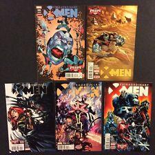 Extraordinary X-Men #8 - 12 Comic Books Marvel Apocalypse Wars Complete 2016 Nm