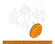 GM OEM Rear Brake-Rotor 15712801