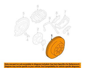 GM OEM Rear Brake-Rotor 15769474