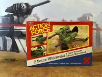 GI Joe Action Force 1984 Z Force Whirlwind V1 Mint In Box Sealed Unused Contents