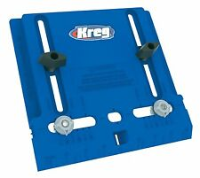 "KREG Tool Company KHI-PULL Cabinet Hardware Jig w. Two Movable 3/16"" Guides"
