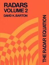 Radars Ser.: The Radar Equation Vol. 2 (1974, Paperback)