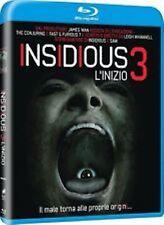 Blu Ray INSIDIOUS 3 - L'Inizio - (2015) **Horror/Contenuti Extra** .....NUOVO