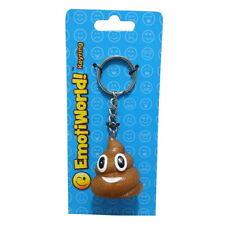 Resin Pile Of Poop Emoji Design Key Chain Novelty Joke Gag Gift