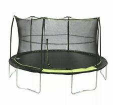 FULL SIZE Bounce Pro 14ft Trampoline With Safety Enclosure Net Combo Bundle Set✅