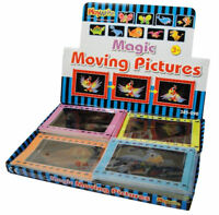 6 Magic Moving Picture Games - Pinata Toy Loot/Party Bag Fillers Wedding/Kids