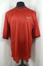 Vtg Swoosh by Nike Mens Xl Full Mesh Basketball Jersey Shirt Red
