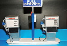 Service Station Gas Pump Island(Ready to Display) 1:18 to 1:24 Scale DIORAMA NW