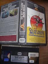 Ou Est Passee Mon Idole ? de Benjamin Richard, VHS RCV, Comédie, RARE!!!