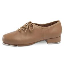 Leo's 5026 Adult Size 8M TanGiordano Jazz Tap Shoe