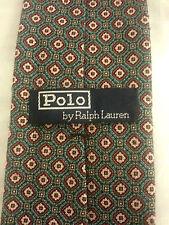 "Ralph Lauren Polo Men's Semi Skinny Neck Tie MADE BY HAND Size 3"" x 54"" EUC"