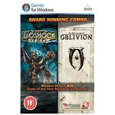 Bioshock & Elder Scrolls: Oblivion Double Pack PC GAME BRAND NEW AND SEALED