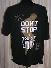 Michael Jackson T-shirt Sz Xl Dont Stop Til You Get Enough Off The Wall Music