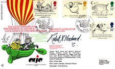 R FDC 66 Full set  Children's Literature Stamps Flown & Signed