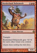 1x Borderland Behemoth Morningtide MtG Magic Red Rare 1 x1 Card Cards