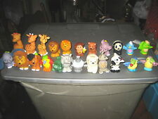 """23 RARE HTF COLLECTABLE FISHER-PRICE LITTLE PEOPLE ANIMALS , """" SOLD AS IS """""""