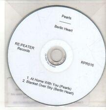 (CQ513) Pearls / Berlin Heart, split single - 2011 DJ CD