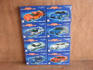 Street Machines Rally Car Kit With Pull Back Power.Full Set of 8 Models.