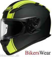 Shoei XR 1100 XR-1100 Glacier TC3 Motorcycle Full Face Matt Black/Hi-viz helmet