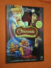 DVD ANIMAZIONE CON OLOGRAMMA- DA COLLEZIONE-WALT DISNEY-CENERENTOLA-SIGILLATO