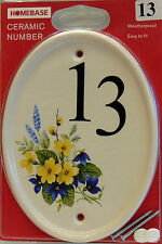 Ceramic Modern Oval Decorative Plaques & Signs
