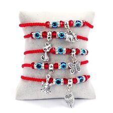 String Thread Pendant Bracelet Charm Women Men Friendship Jewelry Hand Band Gift