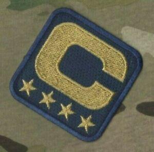 2020-21 Saison CAPITAINE Jersey 4 GOLD  ⭐ Star Captains Marine Thermocollant