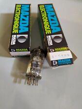 ECC189 MAZDA lampe tube ECC 189 lot de 2 pièces (CavH7h5)