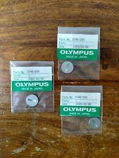 OLYMPUS OM BATTERY COVER CAP - OM-2 S OM-3(ti) OM-4 OM-4T(ti) Satin Chrome - NEW