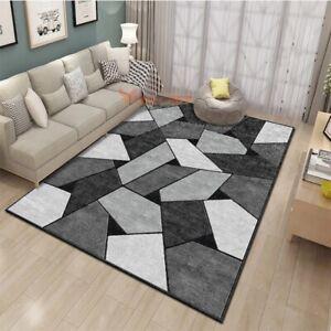 Nordic Carpets Geometric Carpet Coffee Table Area Rug Kids Play Mat Bedroom