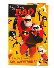 Disney's The Incredibles 2 – Happy Birthday Dad – Pop Up Birthday Card
