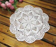Coming Again!! Chic Handmade Crochet Cotton Doily White B