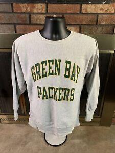 Vintage Green Bay Packers NFL Football Crewneck Sweatshirt Mens Medium Champion