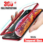 360° Full Cover Case + Tempered Glass For Huawei P20 Lite P30 Mate 20 10 Pro P40
