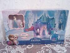 VHTF Disney Frozen Magical Lights Castle with Mini Elsa and Olaf Figures NIB !